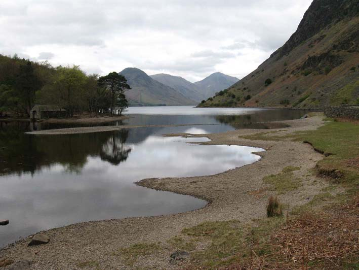 Wastwater boat house