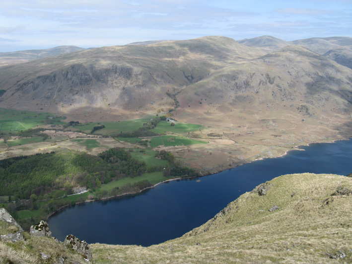 Wastwater from Whin Rigg